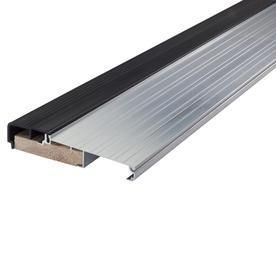 M D Building Products 78691 1 1 8 Inch by 5 3 4 Inch   36 Inch TH397 Fixed Vinyl Sill Inswing  Aluminum Mill