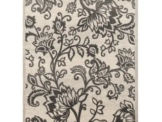 Platinum Collection Floral Area Rug