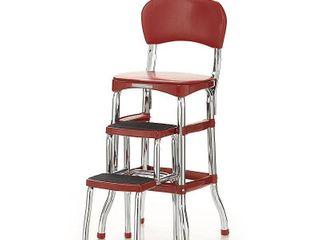 Cosco Retro Counter Chair Step Stool