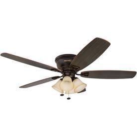 Honeywell Glen Alden Hugger 4 light Ceiling Fan