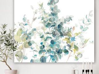 DesignArt Eucalyptus Natural Element Farmhouse Canvas Art