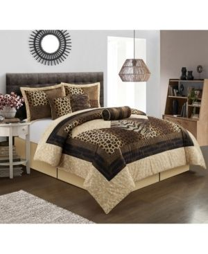Grand Avenue Africa 7 Piece Comforter Set Retail 93 99