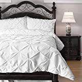 Kotter Home Pinch Pleat Pintuck Comforter Set Retail 85 99