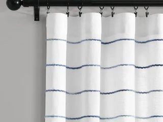 Carson Carrington Pajebo Cotton Window Curtain Panel Pair Retail 75 48