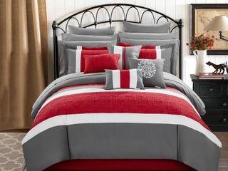 Chic Home Pisa 16 Pc King Comforter Set Bedding