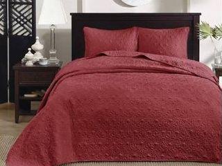 Madison Park Bedspread Set  Queen 1 bedspread   2 shams
