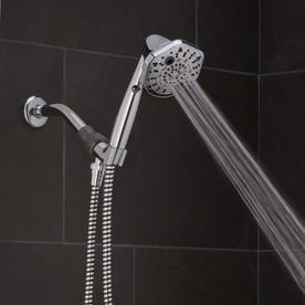 Oxygenics PowerSelect 1 75 GPM  6 6 lPM  Chrome 7 Spray WaterSense Hand Shower