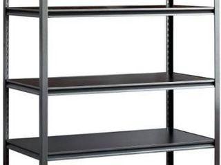 5 heavy duty steel shelving muscle rack