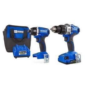 Kobalt 24V MAX Brushless 2 Tool Combo Kit   bigger drill does not work