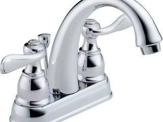 Delta Foundations B2596lF Two Handle Centerset lavatory Faucet  Chrome