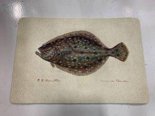 Flounder Door Mat 18x26