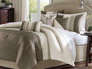 Madison Park Eastridge 7 piece Comforter Set Retail 113 99