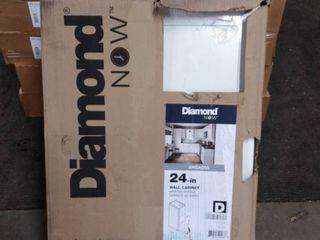 diamond now 24 inch wall cabinet arcadia