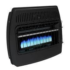 Dyna glo 0849075 Vent Free Space Heater 15 000   30 000 Btu Indoor garage