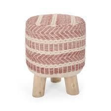 Barrett Fabric Stool by Christopher Knight Home