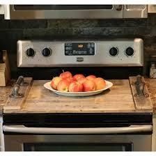 Stove Top Cover  Noodle Board Natural