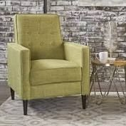 Christopher Knight Home   mid Century Recliner Club Chair in Muted Green