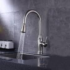ODBO Pull Down Sprayer Kitchen Faucet