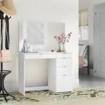 Boahaus 3 Drawer Vanity with Mirror