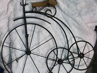 Old Trike Bike Decorative Piece