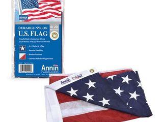 Annin Flagmakers American Flag 4x6 ft  Nylon