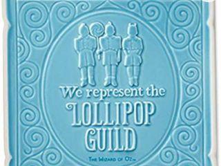 Hallmark lollipop Guild Blue Ceramic Sign Plaque