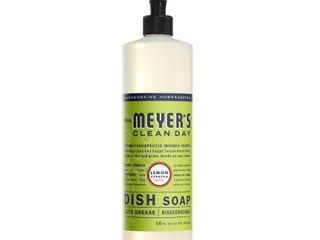 Mrs  Meyer s Clean Day liquid Dish Soap lemon Verbena   16oz Bottle
