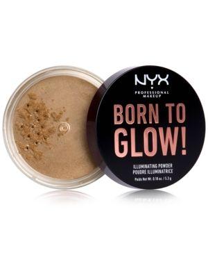 NYX Professional Makeup Born to Glow Illuminating loose Powder   Ultra light Beam   0 18oz