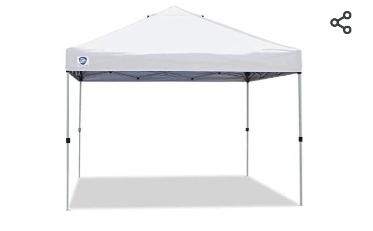 Z Shade Canopy   Size Unknown  Not Inspected     Missing Pieces
