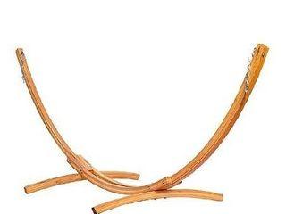 lazy Daze Hammocks 10 Foot Russian Pine Hardwood Arc Frame Hammock Stand
