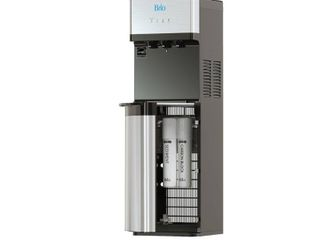 Brio Self Cleaning Bottleless Water Cooler Dispenser with Filtration   Hot Cold and Room Temperature Water  2 Free Extra Replacement Filters Included   Ul Energy Star Approved   Not Inspected