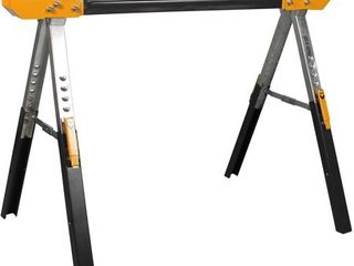 ToughBuilt   Folding Sawhorse Jobsite Table   Sturdy  Durable  lightweight  Heavy Duty  100  High Grade Steel  1300lb Capacity  Easy Carry Handle    TB C600