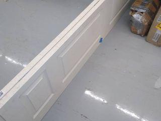 79  l x 36  W When Open     White   Closet Doors
