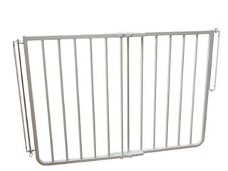 Cardinal Gates Stairway Special Gate  White   Not Inspected