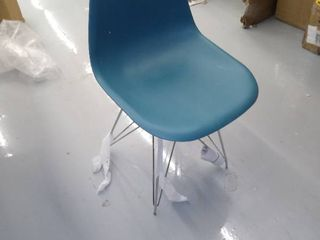 Turquoise Chair   Not Inspected