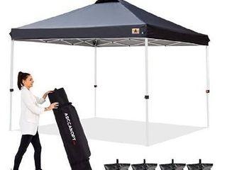 ABCCANOPY 10 x10  Pop up Canopy Instant Outdoor Tent Instant Shelter  Bonus Wheel Bag  Khaki