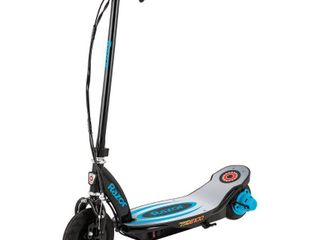 Razor Power Core E100 Electric Scooter   Aluminum Deck   Blue  USED  POSSIBlY INCOMPlETE