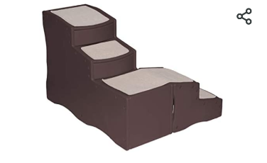 Pet Gear Easy Step Bed Stair for Pets  Essential Grey  One Size   Grey An Not Inspected