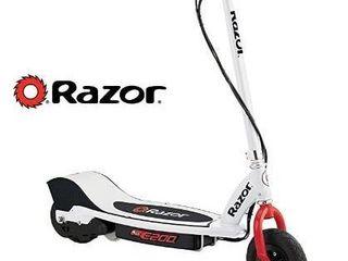 Razor E200 Electric Scooter   White