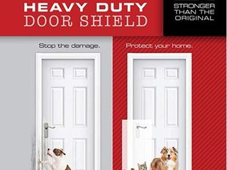 Heavy Duty ClAWGUARD   The Ultimate Door Scratch Shield  Frame   Wall Scratch Protection Barrier for Dog and Cat Clawing  Scratching and Damaging Doors  Scratch Shield 20in x 44in