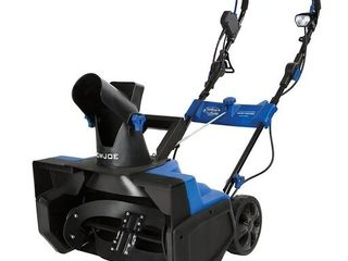 Snow Joe SJ625E Electric Single Stage Snow Thrower   21 Inch   15 Amp Motor   Not Inspected