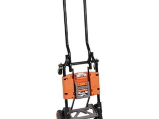 Cosco Shifter 300 Pound Capacity Multi Position Folding Hand Truck and Cart  Orange   12222BGO1E APPEARS USED