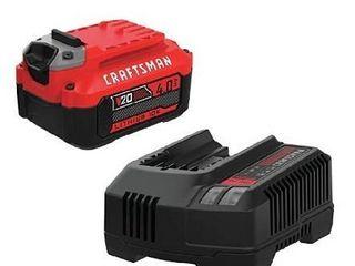 Craftsman lithium 20v v12 battery and charger
