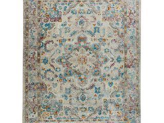 Home Dynamix Nicole Miller Parlin Amara Area Rug 7 9 x9 5  Gray Multi