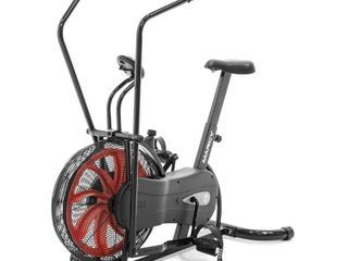 Marcy Stationary Upright Fan Exercise Bike   Not Inspected