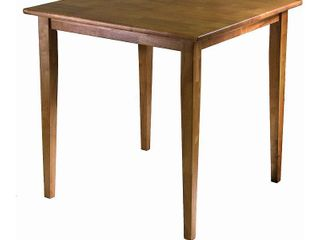 Groveland Square Dining Table light Oak   Winsome   Not Inspected