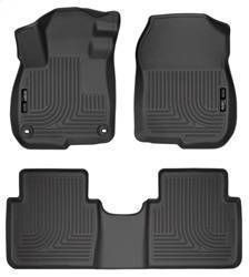 Husky liners Fits 2017 19 Honda CR V Weatherbeater Front   2nd Seat Floor Mats