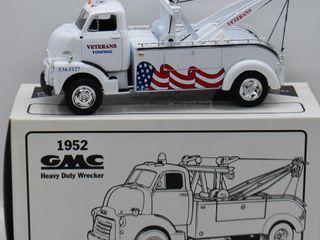 1952 GMC Heavy Duty Wrecker  die cast  1 34 scale