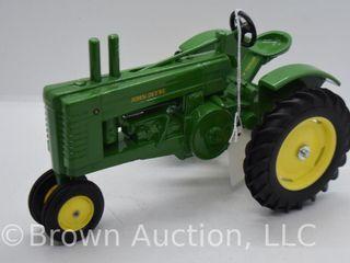 John Deere Model A die cast tractor  1 16 scale