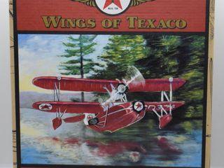 Wings of Texaco  die cast coin bank   1936 Keystone loening Commuter
